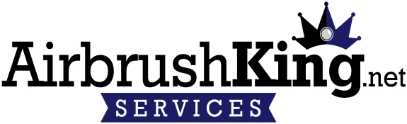 AirbrushKing Services Logo White
