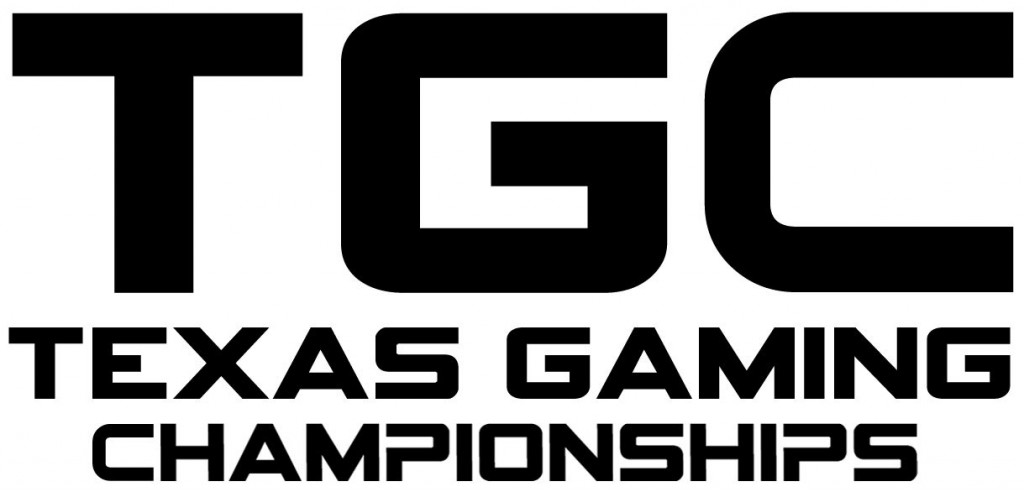 Texas Gaming Championships Black and White Logo Jpeg