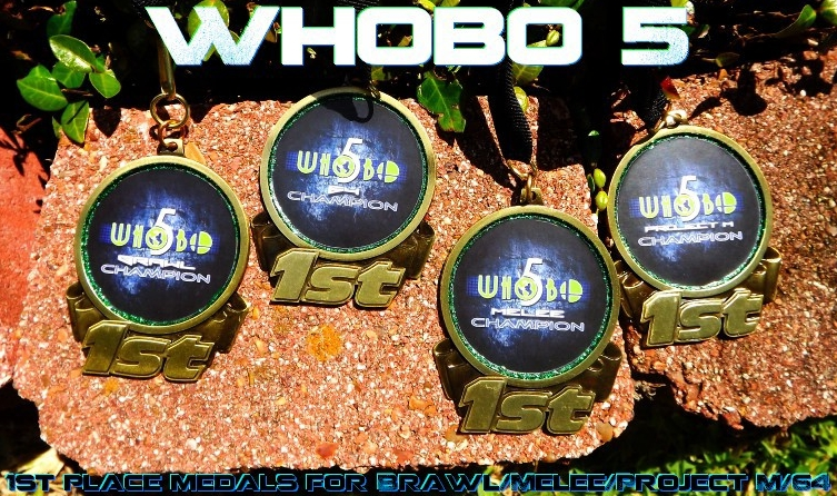 Whobo 5 Champion Medals